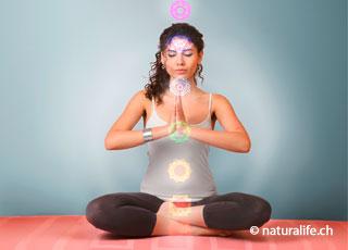 Chakras werden als Energie-, Kraft- oder Bewusstseinszentren innerhalb des Körpers bezeichnet.