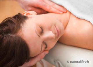 Die Craniosacral-Therapie kann durch feine Berührungen mit der Hand, Spannungsmuster erkennen und auflösen.