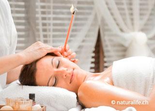 Die Ohrkerzen-Therapie wirkt reinigend, und soll die Selbstheilungskräfte des Körpers anregen.